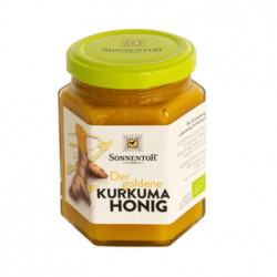 Sonnentor - The Golden turmeric honey organic 230ml
