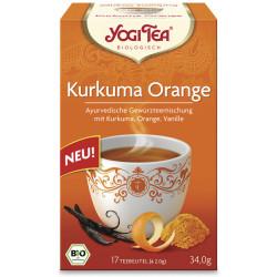 Yogi Tea - Cúrcuma Naranja Bio - 17St