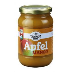 Bauckhof - Pomme, pulpe de mangue sans sucre Bio 360g
