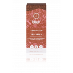 Khadi - light brown - 100g