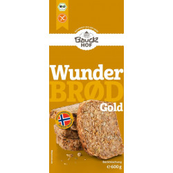 Bauckhof - Wunderbrød Gold gluten free organic 600g
