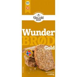 Bauckhof - Wunderbrød Or sans gluten Bio - 600g