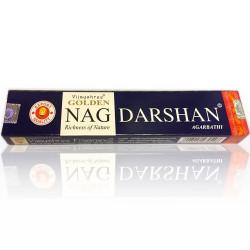 Vijayshree - bastoncini di Incenso Golden Nag Darshan - 15g