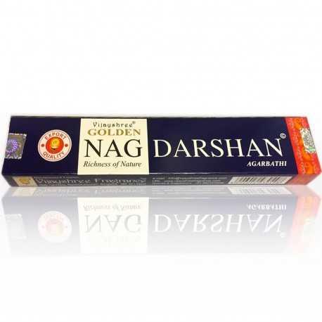 Vijayshree - Räucherstäbchen Golden Nag Darshan - 15g