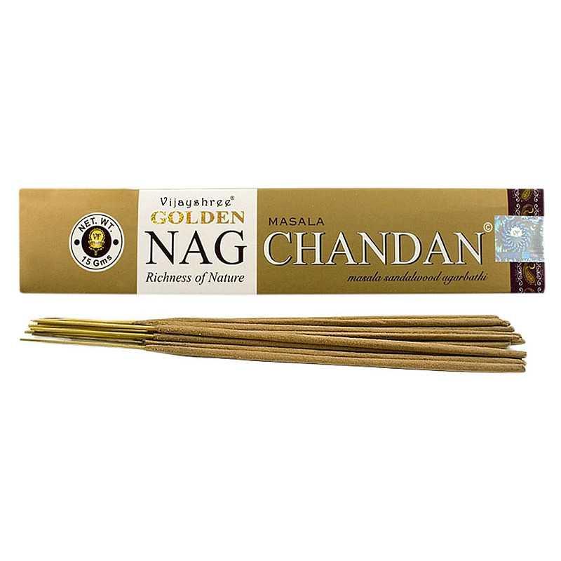 Vijayshree - Räucherstäbchen Golden Nag Chandan - 15g