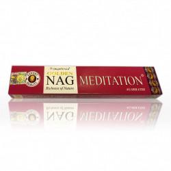 Vijayshree - bastoncini di Incenso Golden Nag Meditazione - 15g