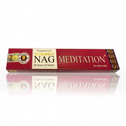 Vijayshree incense sticks, Golden Nag Meditation - 15g
