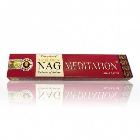 Vijayshree - Räucherstäbchen Golden Nag Meditation - 15g
