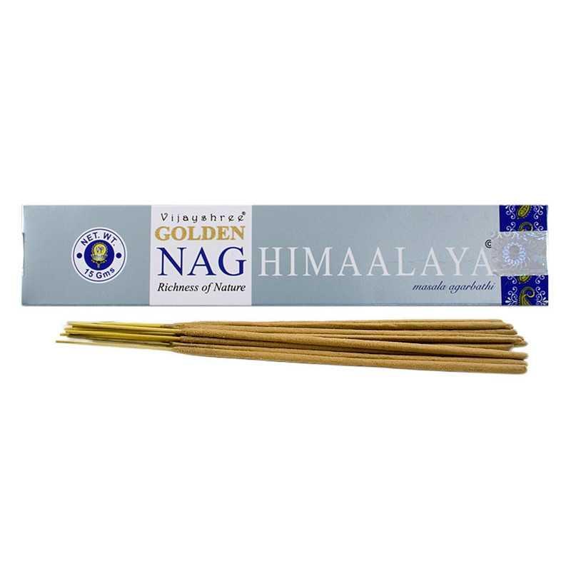 Vijayshree - Räucherstäbchen Golden Nag Himalaya - 15g