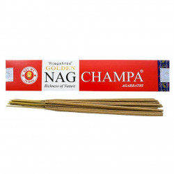 Vijayshree - Incienso Golden Nag Champa - 15g