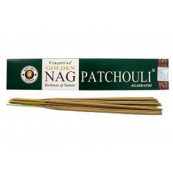 Vijayshree - Incienso Golden Nag Pachulí - 15g