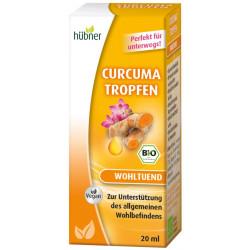 Hübner - Curcuma goutte - à-Goutte de 20ml