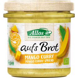 Allos - on bread Mango Curry - 140g