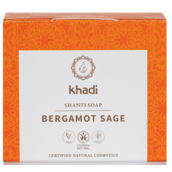 Khadi - Savon Shanti Bergamote Sauge - 100g