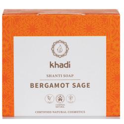 Khadi - Shanti Soap Bergamot Sage - 100g