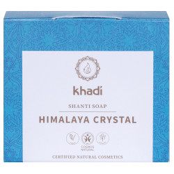 Khadi - Savon Shanti Cristal d'Himalaya - 100g
