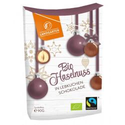 Landgarten - Bio Haselnüsse in Lebkuchen Schokolade - 90g