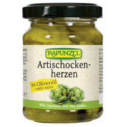 Rapunzel - artichoke hearts in olive oil - 120g