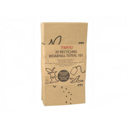 memo - Bio waste bags, recycled - 20