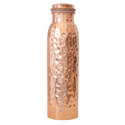Forrest & Love copper water bottle hammered - 900ml