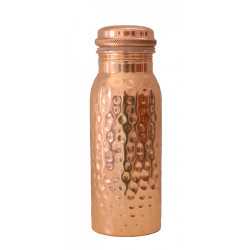 Forrest & Love copper water bottle hammered - 600ml