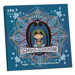 Mind sweets - chocolate-shaman sea salt - 50g