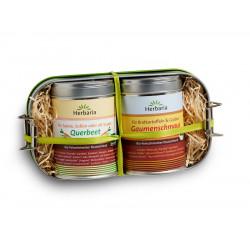 Herbaria - Lunchbox mit Gaumenschmaus und Queerbeet