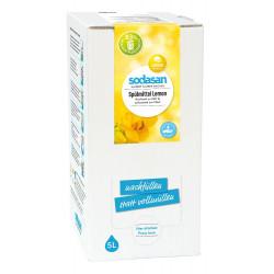 Sodasan - Detersivo per lavastoviglie Lemon - 5l