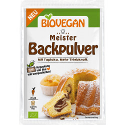 Biovegan - champion baking powder 3x17g