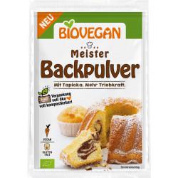 Biovegan - Meister Backpulver - 3x17g