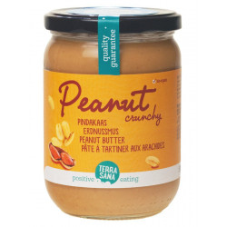 Terrasana - peanut butter crunchy - 500g