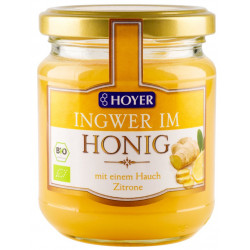 HOYER - Ingwer im Honig - 250g