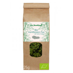 the Hanflinge - organic hemp-flowers-tea-Fedora - 25g