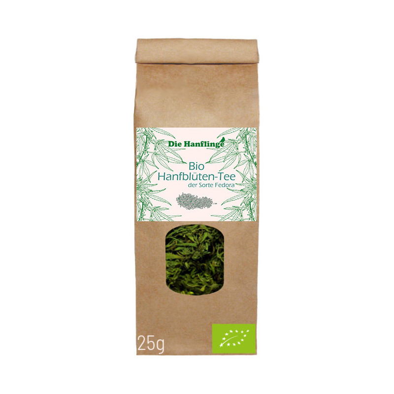 die Hanflinge - Bio Hanfblüten-Tee Fedora - 25g