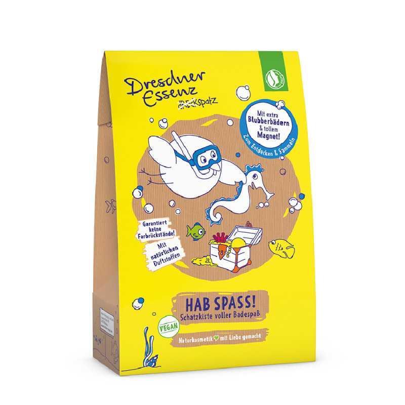 Dresdner Essenz - Hab Spass! Schatzkiste voller Badespaß - 5 x Spaß