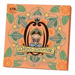 Mindsweets - Cioccolato-Sciamano Arancione - 50g