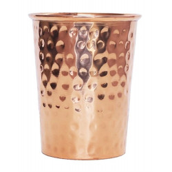 Forrest & Love copper drinking mug hammered - 300ml
