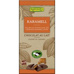 Rapunzel - Cioccolato al Latte con Karamellfüllung - 100g