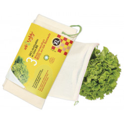 ah table - Obst- und Gemüsebeutel XL - 3 Stück
