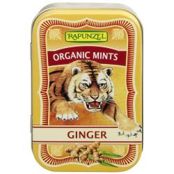 Rapunzel - Organic Mentas Ginger Caramelos - 50g