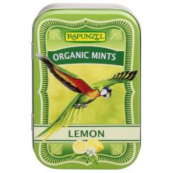 Rapunzel - Organic Mentas Caramelos de Limón - 50 g