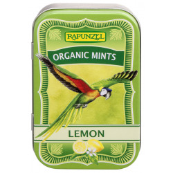 Rapunzel Organic Mints, Lemon candies - 50g