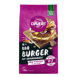 Davert - BBQ Burger Günkern - 160g