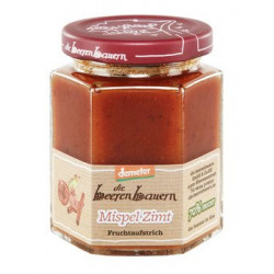 la beerenbauern - Níspero-Canela Mermelada - 200 g