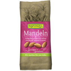 Rapunzel - Almendras tostados, salados o - 60 g