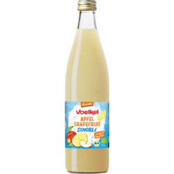 Voelkel - Apfel Grapefruit Schorle - mit 52% Direktsaft - 0,5 l