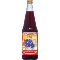 BEUTELSBACHER - el zumo de Uva roja naturtrüber zumo en bruto - 0,7 l