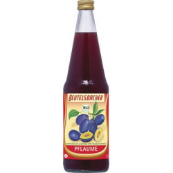 Bag BACHER - plum - 0.7 l