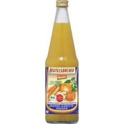 BEUTELSBACHER - Naranja-Zanahoria y Jengibre zumo en bruto - 0,7 l