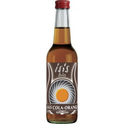 isis bio - cola orange isis bio - 0.33 l